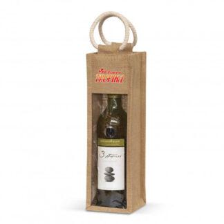 Serena Jute Wine Carrier