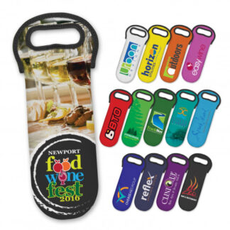 Neoprene Wine Cooler Bag - Full Colour