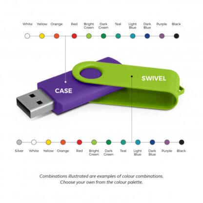 Helix 4GB Mix & Match Flash Drive