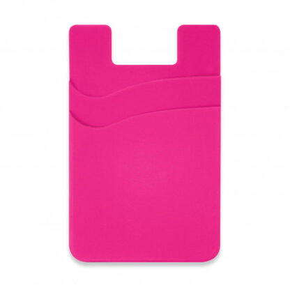 Dual Silicone Phone Wallet